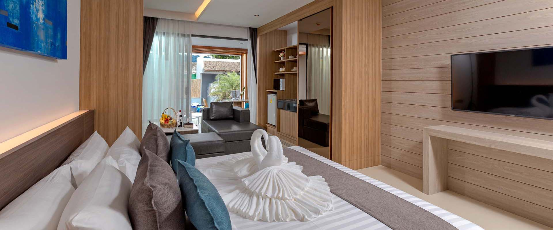 Luxury Beach Suites in Patong