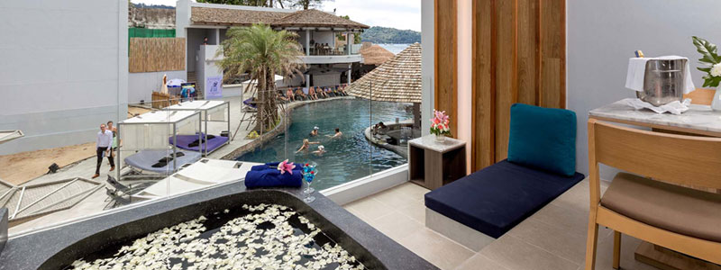 Luxury Beach Suite Hotel Room at Kudo and Beach Club Phuket