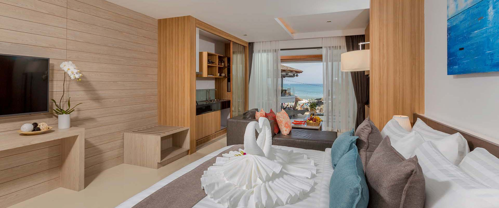 Luxury Beachfront Suites in Patong