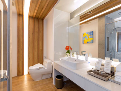 Luxury Pool and Beach Suite Hotel Room at Kudo and Beach Club Phuket