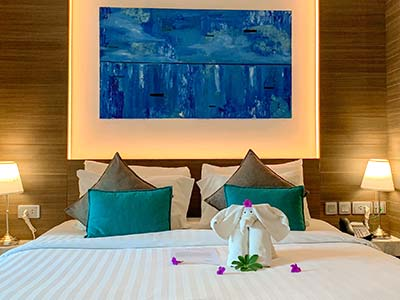 Premier Deluxe Hotel Room at Kudo and Beach Club Phuket