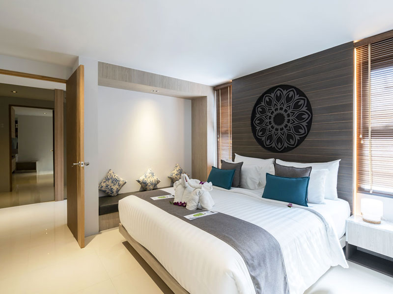 Luxury Two Bedroom Suite Hotel Room at The Bay and Beach Club Phuket