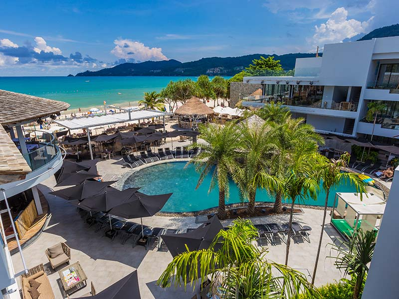 Exterior of The Bay and Beach Club Phuket